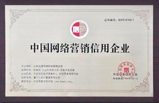 中国网络营销信用企业